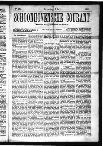 Schoonhovensche Courant 1883-07-07
