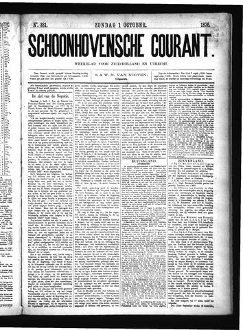 Schoonhovensche Courant 1876-10-01