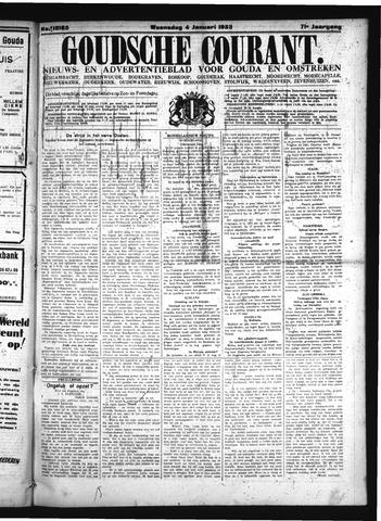 Goudsche Courant 1933-01-04