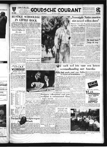 Goudsche Courant 1957-09-27