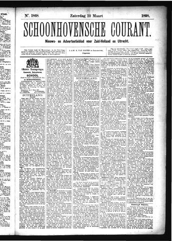 Schoonhovensche Courant 1898-03-12