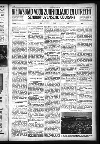 Schoonhovensche Courant 1932-05-11