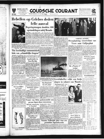 Goudsche Courant 1959-03-07