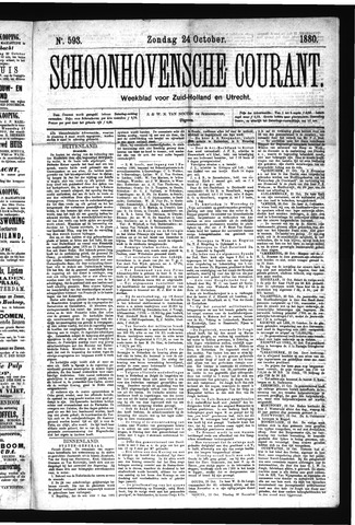 Schoonhovensche Courant 1880-10-24
