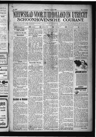Schoonhovensche Courant 1929-01-07