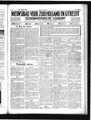 Schoonhovensche Courant 1934-07-30