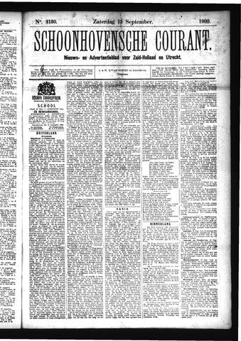 Schoonhovensche Courant 1900-09-15