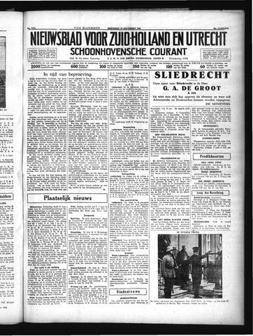 Schoonhovensche Courant 1934-09-19