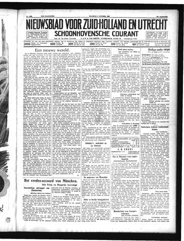 Schoonhovensche Courant 1938-10-03