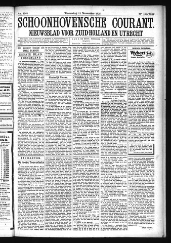 Schoonhovensche Courant 1925-11-11