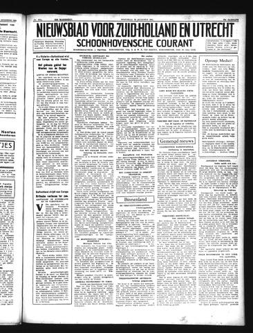 Schoonhovensche Courant 1941-08-20