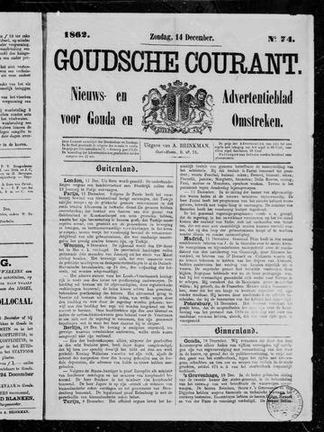 Goudsche Courant 1862-12-14