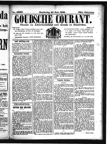 Goudsche Courant 1909-06-24