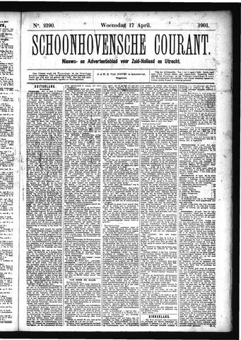 Schoonhovensche Courant 1901-04-17