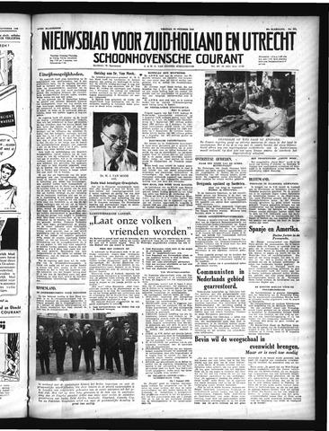 Schoonhovensche Courant 1948-10-15