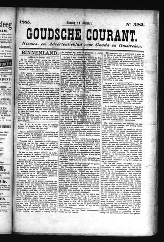 Goudsche Courant 1885-01-11