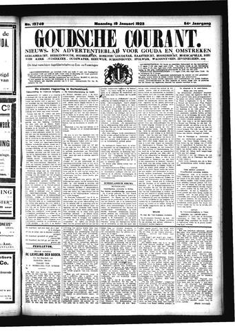 Goudsche Courant 1925-01-19