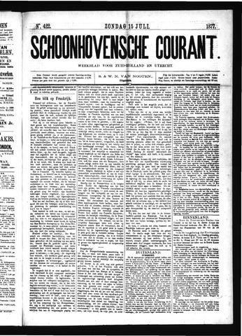 Schoonhovensche Courant 1877-07-15