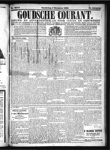 Goudsche Courant 1922-11-02