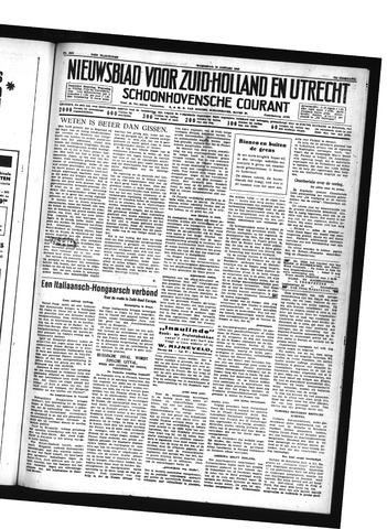 Schoonhovensche Courant 1940-01-10