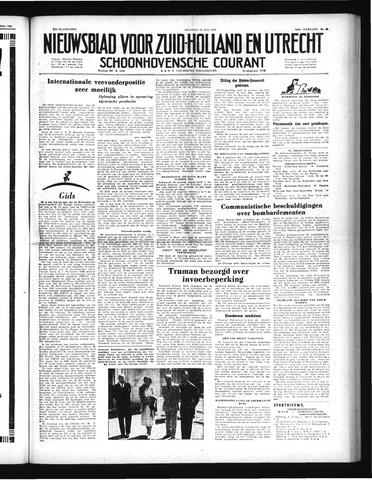 Schoonhovensche Courant 1952-07-13