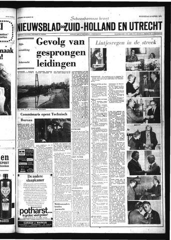 Schoonhovensche Courant 1975-04-30
