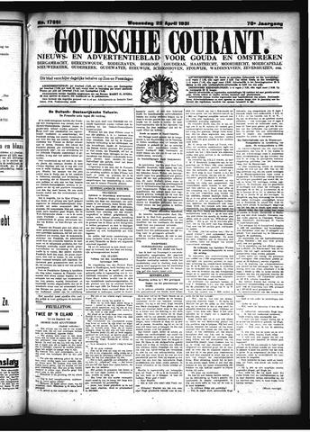 Goudsche Courant 1931-04-22