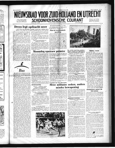 Schoonhovensche Courant 1952-07-23