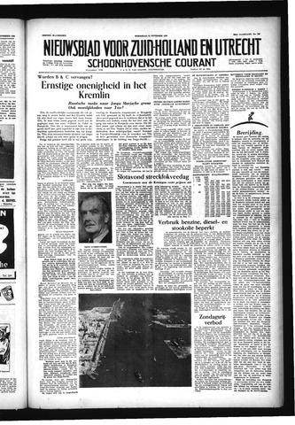 Schoonhovensche Courant 1956-11-21