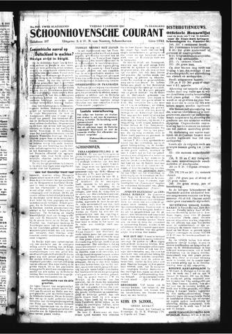 Schoonhovensche Courant 1945-01-05