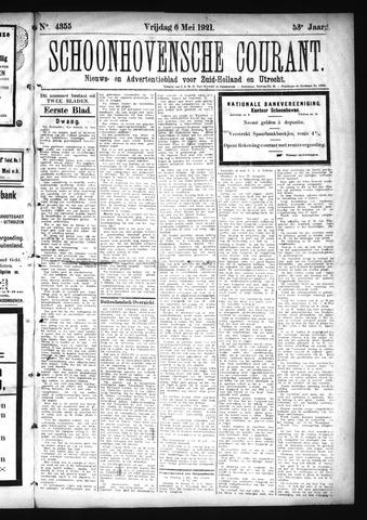 Schoonhovensche Courant 1921-05-06