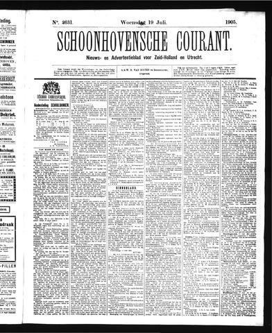 Schoonhovensche Courant 1905-07-19