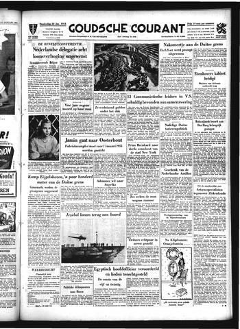 Goudsche Courant 1953-01-22