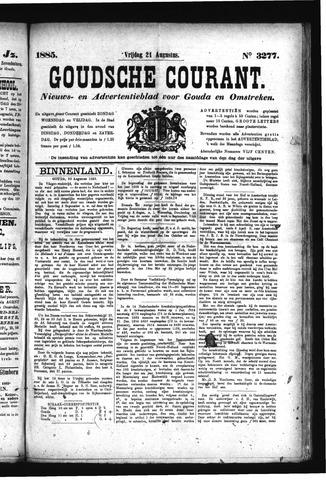 Goudsche Courant 1885-08-21