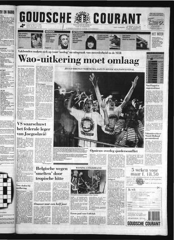 Goudsche Courant 1991-07-13