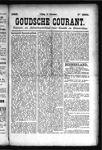 Goudsche Courant 1883-11-16
