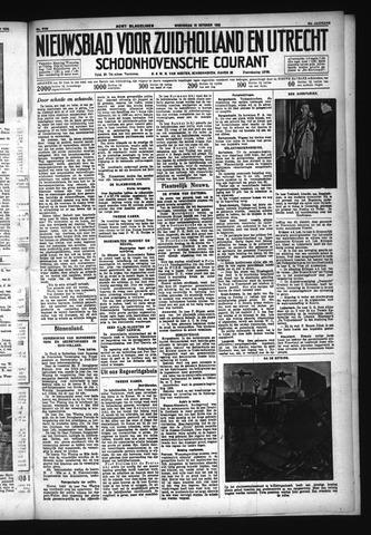 Schoonhovensche Courant 1932-10-19