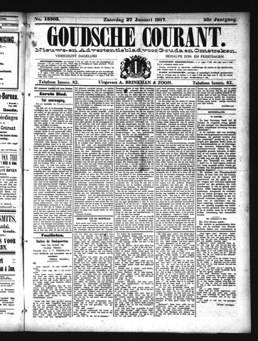 Goudsche Courant 1917-01-27