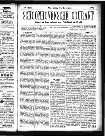 Schoonhovensche Courant 1904-02-24