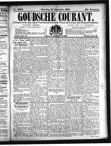 Goudsche Courant 1913-09-22