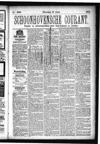 Schoonhovensche Courant 1915-06-15