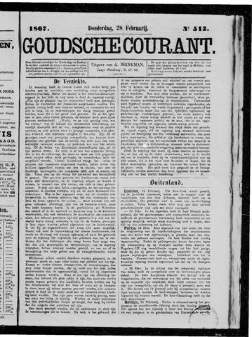 Goudsche Courant 1867-02-28