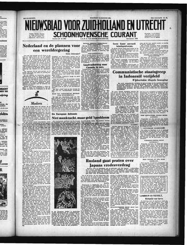 Schoonhovensche Courant 1951-08-15