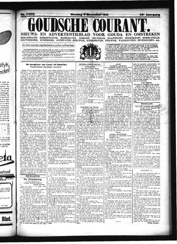 Goudsche Courant 1931-11-03