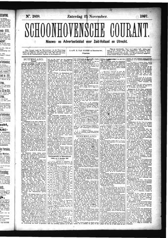 Schoonhovensche Courant 1897-11-27
