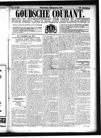 Goudsche Courant 1931-08-05