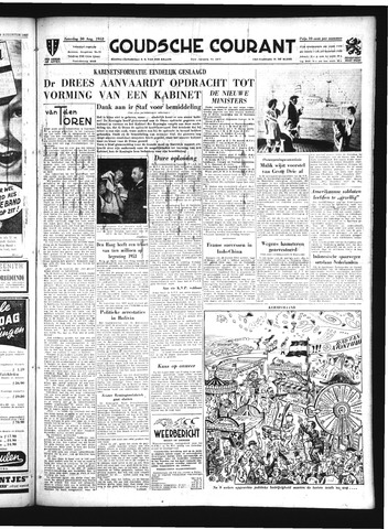 Goudsche Courant 1952-08-30