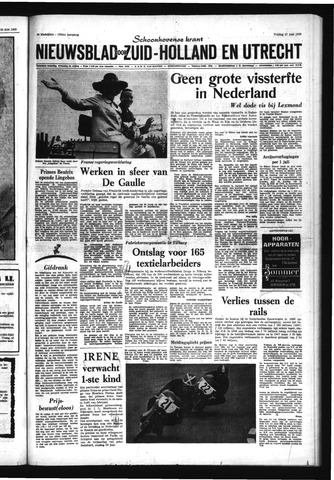 Schoonhovensche Courant 1969-06-27