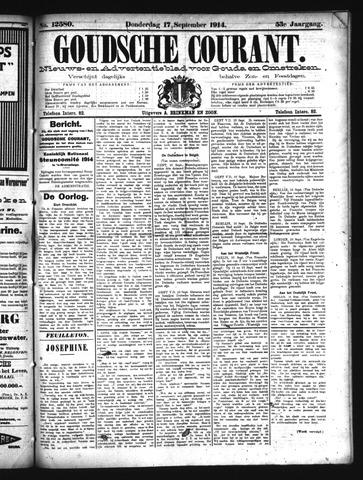 Goudsche Courant 1914-09-17