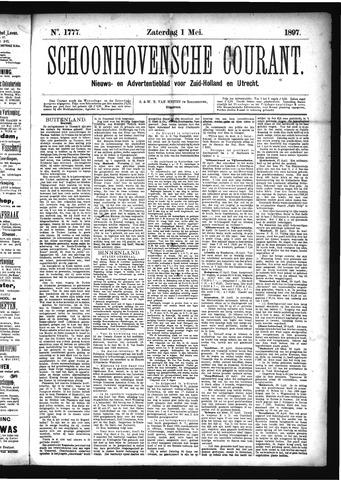 Schoonhovensche Courant 1897-05-01